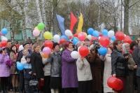 Унинцы встретили праздник Весны и Труда