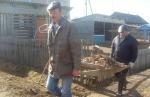 Субботник Комаровское сельское поселение апрель 2012 года