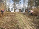 Субботник Астраханское сельское поселение апрель 2012 года