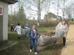 Субботник Канахинское сельское поселение апрель 2012 года
