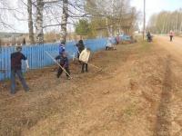 Благоустройство территорий поселений  - на контроле  у главы района