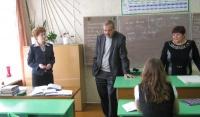 А.А. Галицких посетил школы района
