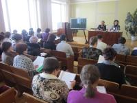 Рабочее совещание с председателями участковых избирательных комиссий