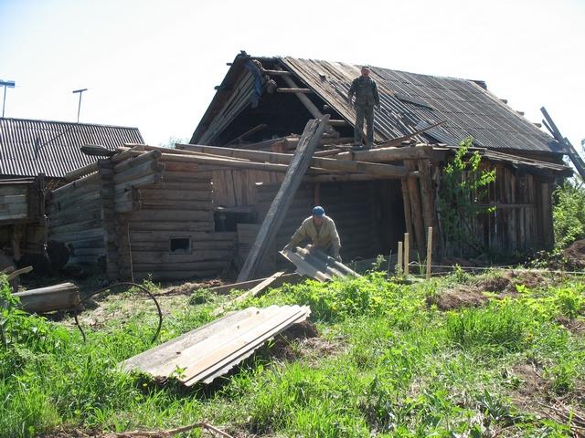 частный дом под снос жизни России: