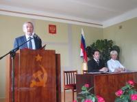 Глава Унинского района А.Н.Пантелеев  официально вступил в должность