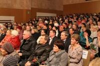 Глава района А.Н. Пантелеев поздравил педагогический коллектив  и общественность с юбилеем Унинской средней школы