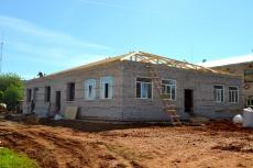 Строительство пристроя к детскому саду «Ручеек» ведется в соответствии с графиком