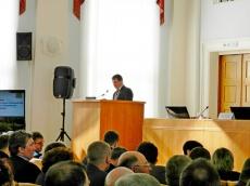 Глава  Елганского сельского поселения Шаклеин А.В. поделился опытом работы  по  реализации проектов по поддержке местных инициатив