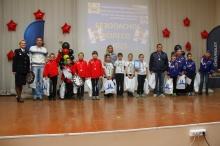 В областном конкурсе «Безопасное колесо» Унинский район представляла команда из д. Канахинцы