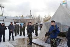 В пгт Уни состоялось открытие Сквера памяти ветеранов боевых действий