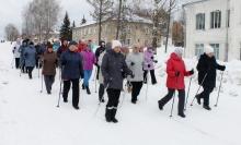 Первый  фестиваль любителей скандинавской ходьбы