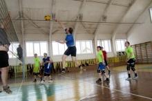16 апреля 2016 года прошли районные соревнования по волейболу