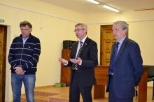 Казаковцев О.А. и Шулаев В.Л. в Унинском районе
