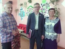 Член Совета Федерации Федерального Собрания Российской Федерации О.А. Казаковцев  посетил Унинский район