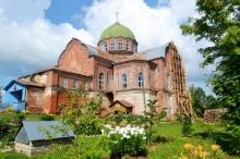 О ремонте  храма св. Александра Невского в п.Уни