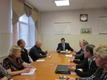Глава района А.В. Шаклеин  провел совещание с главами поселений района