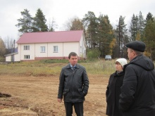 Глава района А.В. Шаклеин посетил Комаровское сельское поселение