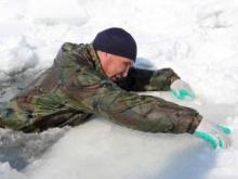 ПАМЯТКА. Если вы провалились под лед