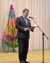 Глава района поздравил лучших школьников с Новым годом