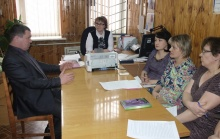 Глава района А.В. Шаклеин  встретился с коллективом редакции районной газеты
