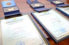 Среди награжденных Памятным знаком «Семейная слава» - семья Пыхтеевых из Унинского района