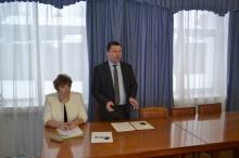 Глава района А.В.Шаклеин провел совещание с руководителями предприятий торговли и общественного питания