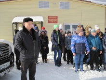 Экскурсия школьников на сельхозпредприятие с. Елгань