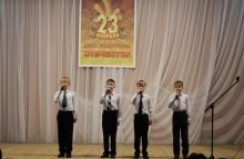Состоялся конкурс патриотической песни   «Во славу Родины поём!»