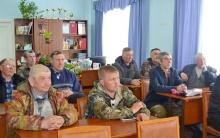 Собрание рыбаков Унинского района