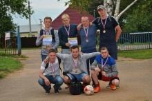 19 августа 2017 года в с. Красногорское Удмуртской Республики состоялось открытое Первенство Красногорского района по мини-футболу среди любительских команд на «Кубок Святогорья».