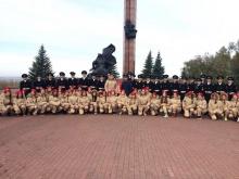 Кировская делегация приняла участие в открытии Окружного слета поисковых отрядов «Никто не забыт»