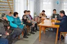 Выездные рабочие совещания главы Унинского района