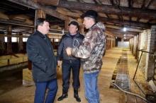 В Малополомском сельском поселении  реконструировали ферму на 100 голов
