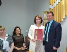 Глава района встретился с коллективом территориального Отдела №30 Управления Федерального казначейства