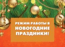 Режим работы центров «Мои Документы» в новогодние праздники