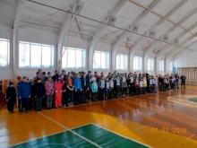 Прошли соревнования по лыжным гонкам и сдача норм ГТО