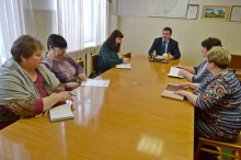 Рабочее совещание с руководителями организаций  системы потребительской кооперации