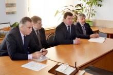 Унинский район с рабочим визитом посетил  министр здравоохранения Кировской области Черняев А.В.