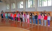 Прошли соревнования по летнему полиатлону среди детей 2012-2013 г.р.