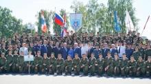 Кировская область приняла участие в открытии второй смены юнармейского оборонно-спортивного лагеря «Гвардеец»