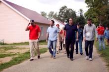 Владимир Климов посетил детский оздоровительный лагерь «Березка»