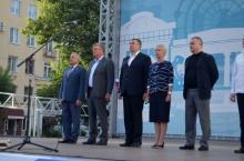 Владимир Климов поздравил кировчан с Днем Государственного флага России