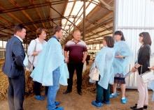 Делегация Фаленского района посетила село Елгань