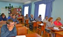 С совещания с главами поселений района