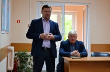 Глава района проводит плановые встречи с трудовыми коллективами