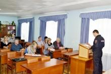 С заседания комиссии по профилактике преступлений и правонарушений
