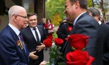 Игорь Комаров поздравил физика-ядерщика  Радия Илькаева c 80-летием