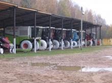 Постановка сельскохозяйственной техники на   зимнее хранение на предприятиях АПК Унинского района в 2018 году