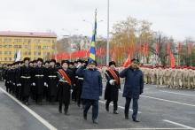 Делегация из Кировской области приняла участие в масштабном Параде Памяти, который 7 ноября состоялся в Самаре