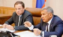 Игорь Комаров посетил Казань, где  обсудил готовность Татарстана к исполнению Указа Президента России